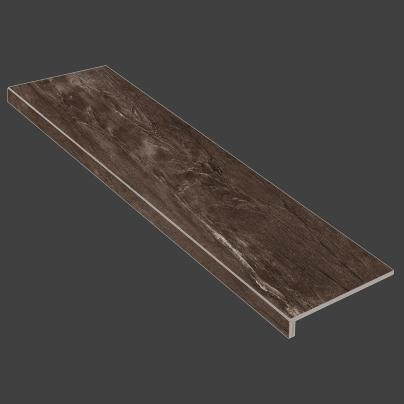 Ступень с капиносом Lux Альта LR Темно-коричневый