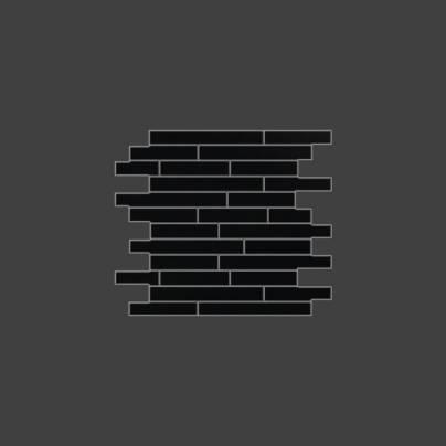Мозаика Ультра 1 Неро