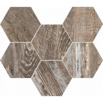 Мозаика Spanish Wood Hexagon 25x28.5 неполиров. SP 03