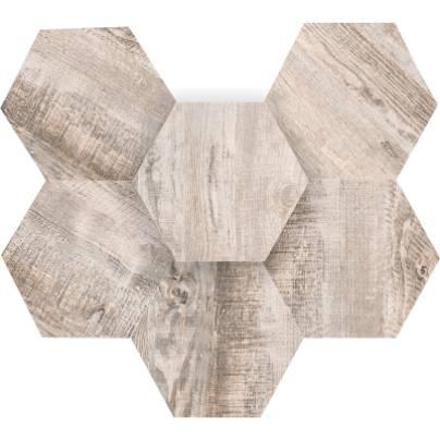 Мозаика Spanish Wood Hexagon 25x28.5 неполиров. SP 01