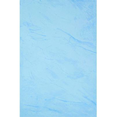 Темно-голубая глянцевая